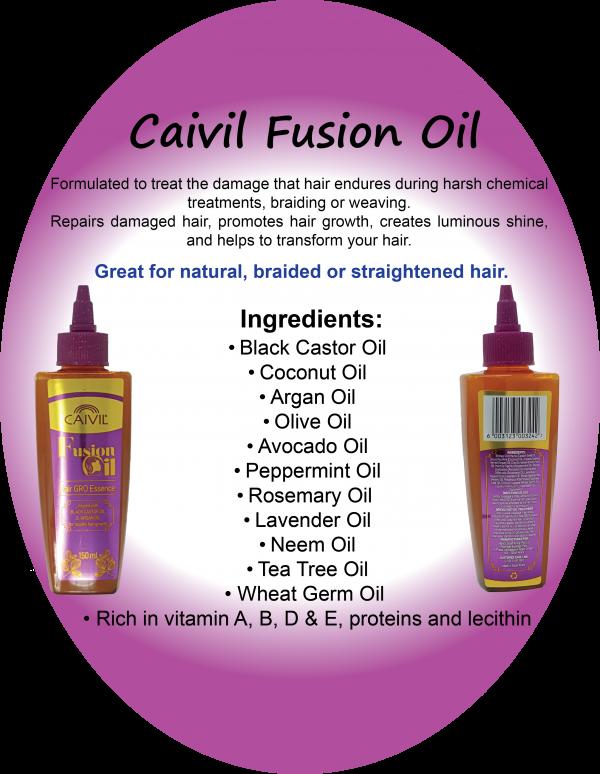 All Natural Fusion Hair Grow Serum (5 Oz)