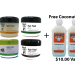 Combo Pack Black Chic Hair Food -250mL (4×8.5 oz).Great for ethnic or natural Hair.